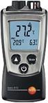 Afbeelding van testo 810 luchttemperatuur en infrarood oppervlaktetemperatuur in een apparaat