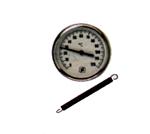 Afbeelding van Bimetaal-contactthermometer, 0-60 °C/0-120°C, behuizing 63 mm