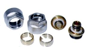 Picture of Aluminium knelkoppeling 14-20 x 2,0, voor meerlaags verbindingsbuizen, 2 stuk