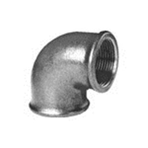 Picture of Fitting van smeedbaar gietijzer knie 90 graden bi/bi