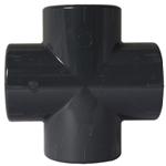 Afbeelding van PVC kruiskoppeling