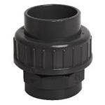 """Afbeelding van PVC schroefverbinding 1 1/2""""- lijm 50mm"""