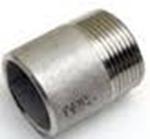 Afbeelding van Draadfitting - roestvrijstaal - Lasnippel