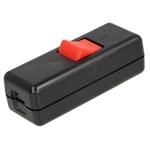 Afbeelding van Interbär Snoer - tussenschakelaar serie 8010/10 zwart / rood