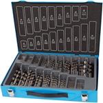 Afbeelding van HSS spiraalboor set 170-delig type n, DIN 338, geslepen