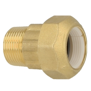 Picture of Knelkoppeling voor PE, PVC-buizen draadaansluiting  US