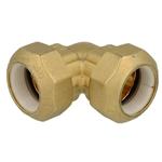 Afbeelding van Knelkoppeling voor PE, PVC buizen Haakse koppeling