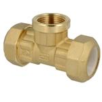 Afbeelding van Knelkoppeling voor PE, PVC buizen T-stuk  IS