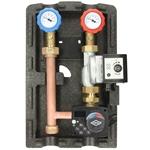 Afbeelding van Verwarmingsgroepen-set, gemengd met FWR en OEG pomp CPAE 55/25-130