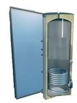 Afbeelding van set: 'O4SP1-120S1' - 4plus 1 x vlakkeplaatcollector voor schuindak 120 liter solarboiler