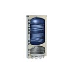 Afbeelding van Warmtepomp-combinatieboiler 500 l met 2 buiswarmtewisselaars zilver