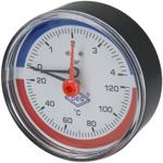 "Afbeelding van Thermo-manometer axiaal 1/2"" US"